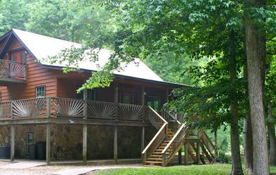 Photo for Wolf River Retreat -Private Scenic Riverside Get-A-Way near Dale Hollow Lake