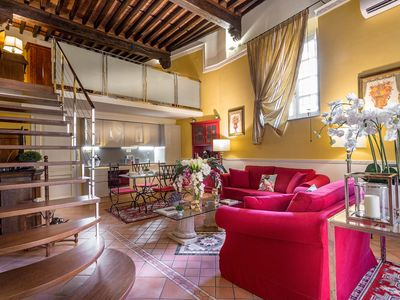 Photo for A Spacious Homey Contemporary 2 BR Apartment In Central Lucca inside the Walls