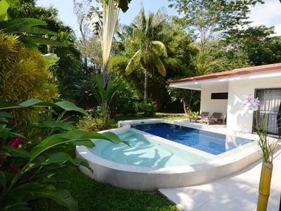 Photo for charming villa, tropical garden, in the heart of JACO in a quiet area, alarm, near sea