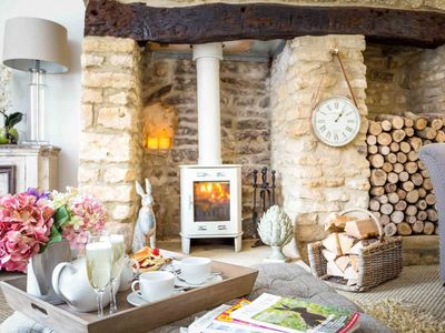 Photo for Fairview Cottage is a truly stunning Cotswold stone cottage, located in the village of Longborough