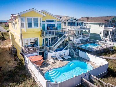 Photo for Pebble Beach | Oceanfront | Dog Friendly, Private Pool, Hot Tub