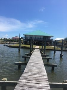Photo for Gorgeous Water Front Private Home, New Build, 250' Lighted Pier, Has Everything