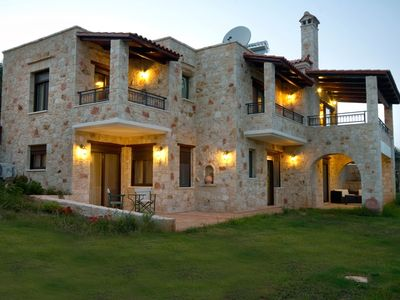 Photo for A stone villa with private pool, tastefully decorated, ideal for relaxation