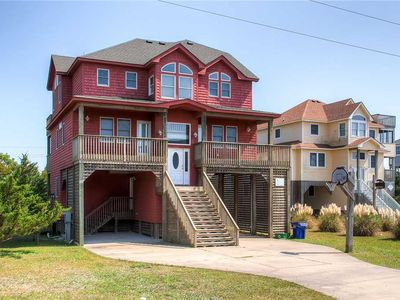Photo for Close to Everything! Soundside Avon - Pool, Hot Tub, Dog-Friendly, Walk to Beach