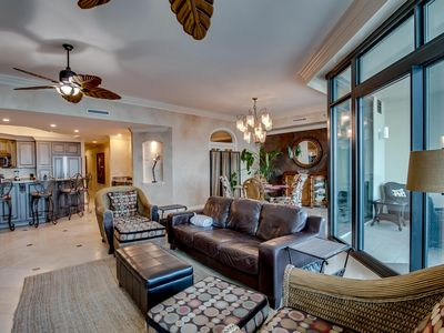 Photo for Luxury Gulf Front Condo! New Lower Prices -Book now for Spring and Summer!