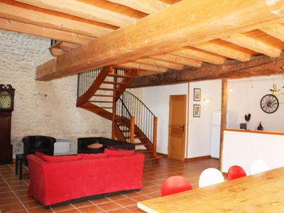 Photo for Domaine de la Laigne - SPA - Cottage 6 people between La Rochelle & Cognac