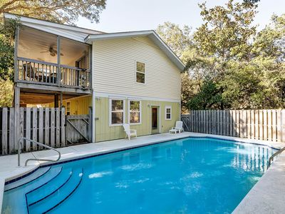 Photo for Spacious 2 story, 6-bedroom, 5 bath home with a large inviting private pool