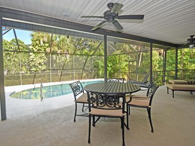 Photo for Island Oasis - Steps to both Gulf & Bay Access - Heated Pool