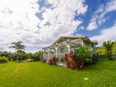 Photo for Ocean View Couple's Cottage on Fruit Orchard with Stream