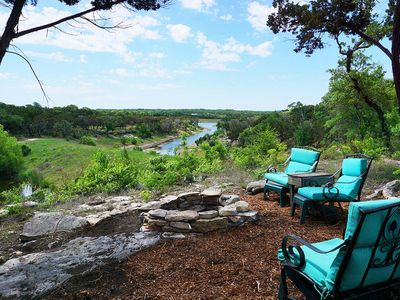 Photo for Romantic getaway on TWO semi private lakes in Wimberley
