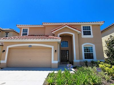 Family friendly south facing villa with conservation outlook, 15 mins to Disney