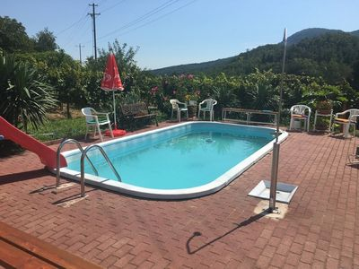 Photo for Holiday house with pool and internet possibility