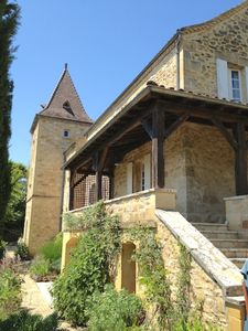 Photo for Manoir with Heated Pool, WiFi, Stunning South-facing Views Of Dordogne Valley