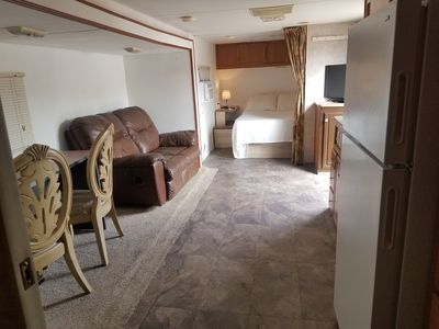 Photo for Independent and Beautiful Trailer/RV for a great stay.