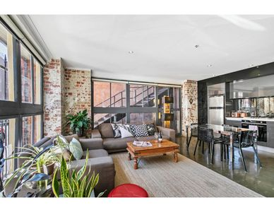 Photo for Chic warehouse apartment in hipster, foodie hub
