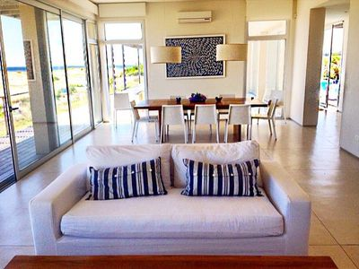 Photo for Beachfront contemporary with unobstructed ocean views and swimming pool