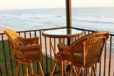 Watch the surf from your balcony