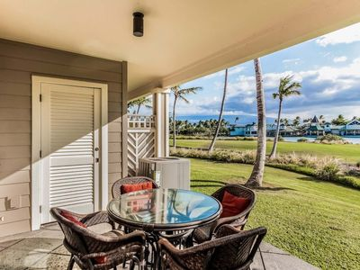 Photo for Waterfront Golf Course Villa w/ Resort Hot Tub, Pool, Gym- WiFi, Lanai & AC