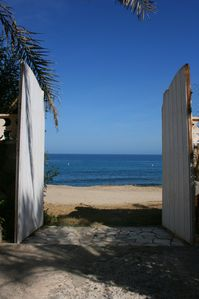 Photo for Great house on the beach in Carboneras near the Cabo de Go