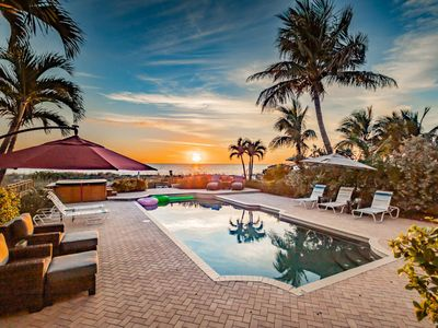 Photo for Luxury Directly On Beach w/Pool and Hot Tub, Sleeps 14, free boat ride