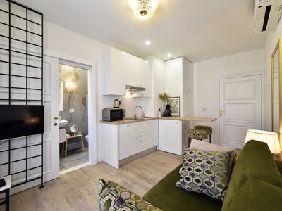 Photo for Charming studio perfect for couples - 4* - 2 minutes from main square