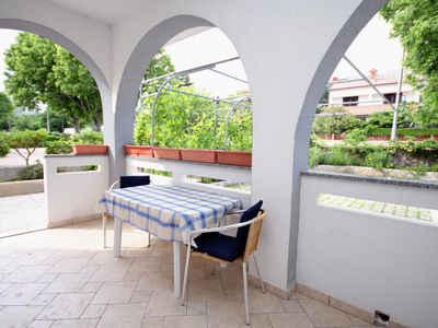 Photo for One bedroom apartment with terrace Baška (Krk)