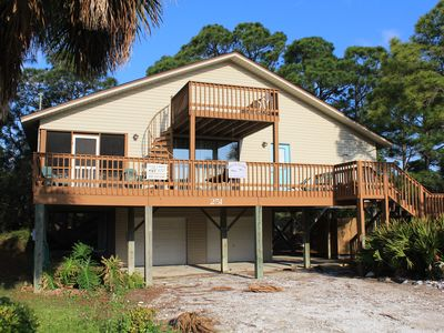 Photo for Oyster Catcher - 2 Bed / 2 Bath Gulf Side Home in Cape San Blas