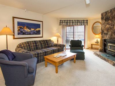 Photo for Mountain Condo w/ WiFi, Shared Pool - Walk to Eagle Lodge