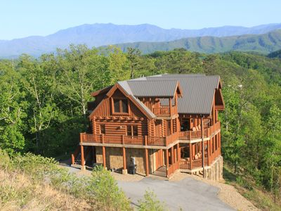 Photo for Majestic Mountaintop Retreat - Incredible Views, Unmatched Luxury
