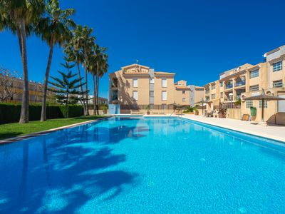 Photo for Augusta Apartment Jávea Sur, Stylish with AC, Wifi, Terrace and Pool