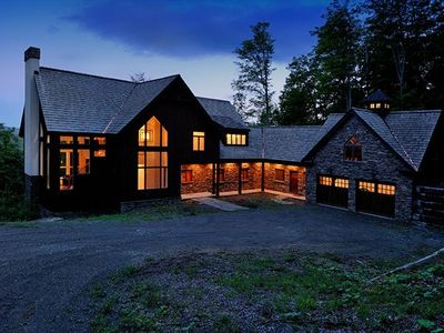 Photo for Luxury Home at Hawk Resort with Views of Okemo and Lakes