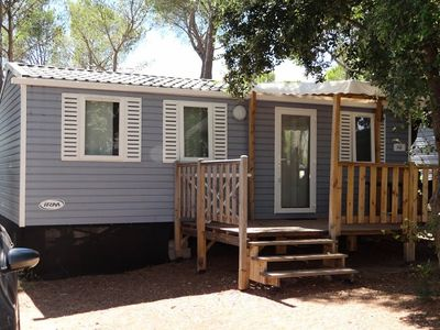 Photo for Franthéor Fréjus Camping ***** - Luxury Cottage 6 Persons 4 Rooms