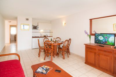 You will love the lovely and open living area.