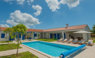 Photo for 3000sqm plot, with 50 sqm heated pool, jacuzzi, 2 tennis courts