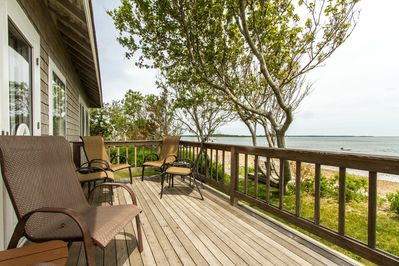 Enjoy expansive views from the north porch.