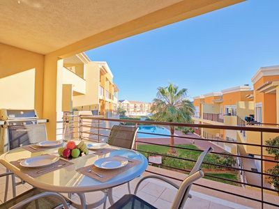 Photo for 2 bedroom Apartment, sleeps 6 with Pool, Air Con and WiFi
