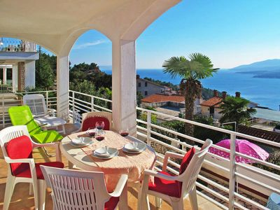 Photo for Apartment Palma  in Rabac, Istria - 5 persons, 2 bedrooms