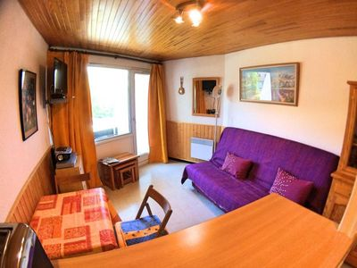 Photo for Wifi, 150m from resort center, 4th floor, view mountain, balcony, tv, 24m², Vars