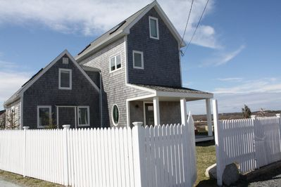 Welcome! Original oceanfront 150+ yr old cape home with a modern addition