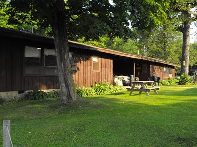 Photo for 2 Bedroom Cabins on a GREAT fishing lake! 1 mile off Mille Lacs Lake