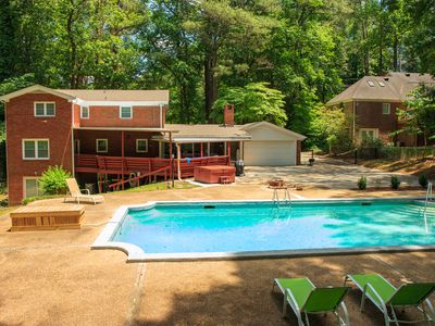 Photo for SUMMER SALE_Large Home*Pool*HotTub*BBQ*Foosball*-Close To Airport&Downtown