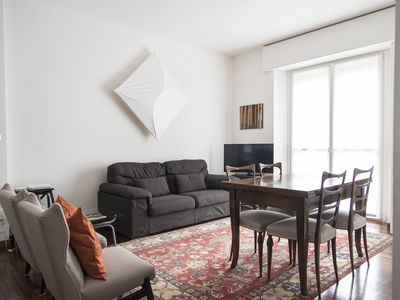 Photo for 2 BDR lovely flat in front of Bocconi university