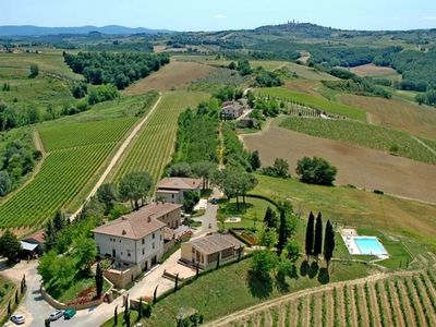 Photo for 9 bedroom Villa, sleeps 18 in Capezzano Pianore with Pool and WiFi