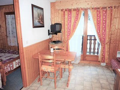 Photo for TER-GRIZ-06 : 2 rooms near the slopes