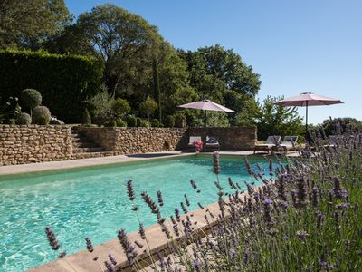 Photo for Romantic gite located in a quiet hamlet near Uzès.