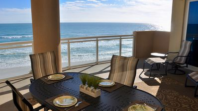 Photo for SPECIAL RATE Oct/Nov Pool Rehab Direct Oceanfront Unit 406 Huge Private Balcony