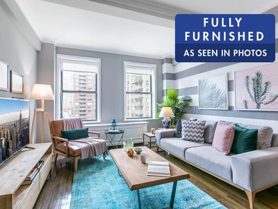 Photo for Comfy UWS 1BR w/ Gym + Doorman, near Central Park by Blueground