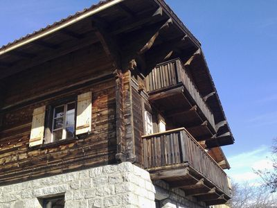 Photo for Hide-away Chalet www in the Swiss mountains. josihaus. com
