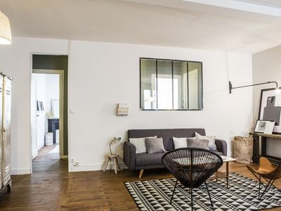Photo for Spacious Cheverus Madd apartment in Hôtel de Ville with WiFi.