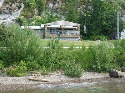 Photo for Semi-Waterfront Cottage, West View, Wharf,  Buoy, Pet Friendly